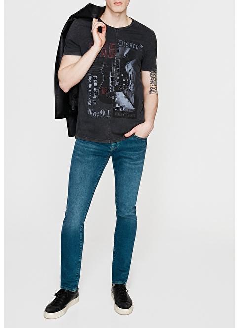 Mavi Jean Pantolon | James - Super Skinny Yeşil